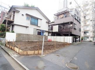 渋谷区代々木3丁目売地6380万円現地写真