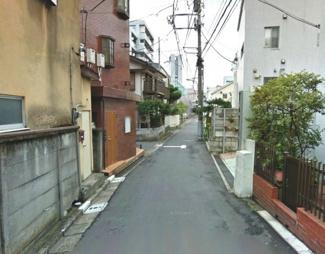 渋谷区代々木3丁目売地6380万円前面道路