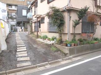 渋谷区代々木4丁目売地6100万円南側道路