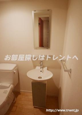 【洗面所】アーク神楽坂