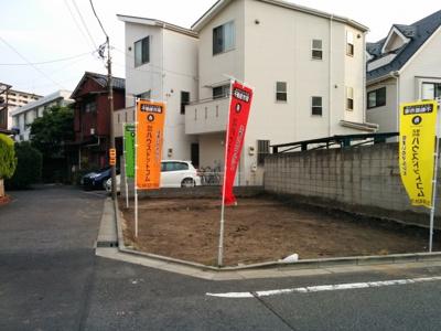 【外観】足立区新田/新築分譲住宅全1棟