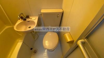 【トイレ】花園第6マンション