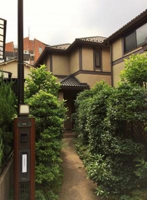 アプローチ 浜田山3丁目戸建賃貸住宅