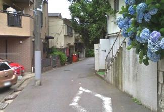 大田区南馬込1丁目売地2000万円前面道路1