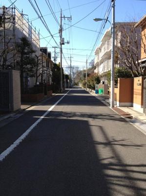 区画の整った街並み