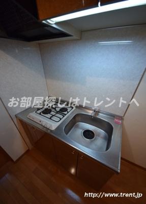 【キッチン】ガラステージ神田神保町