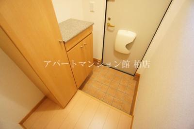 【玄関】カーサ・大井A