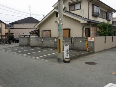 【区画図】川西山田駐車場