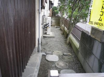 【外観】行田市持田5丁目 敷地51坪 整形地