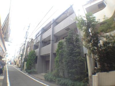 下高井戸公園通りに面した低層マンション