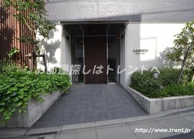 【エントランス】ガーデン小石川