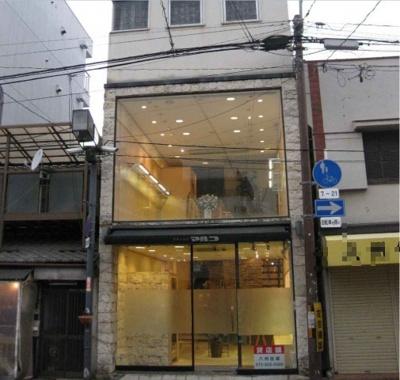 【外観】堺市駅東商店街 オシャレな半地下あり!一棟貸し店舗・事務所 約85坪!
