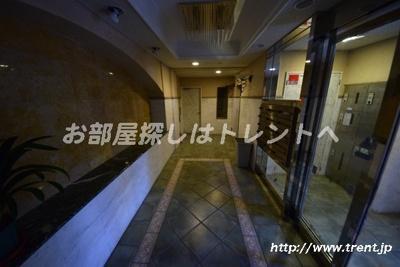 【ロビー】ブルーガーデン小石川
