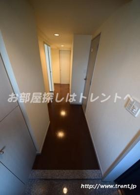 【玄関】ブルーガーデン小石川