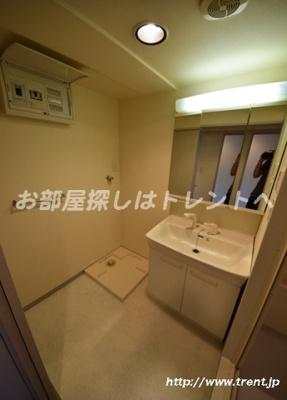 【洗面所】ブルーガーデン小石川