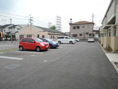 【駐車場】グリーンコート