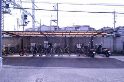 ★屋根付き駐輪場★
