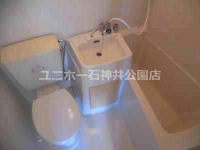 【浴室】コーポムツミ