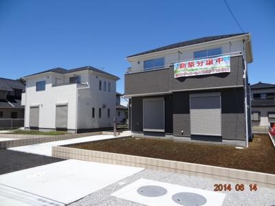 【外観】鴻巣市関新田/新築分譲住宅全4棟/残1棟