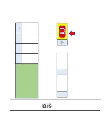 【区画図】島津駐車場