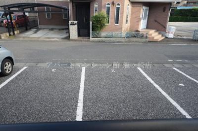 【駐車場】エクセルパレス佐貫B棟