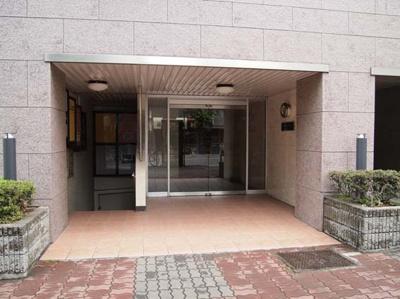 【エントランス】中野東豊マンション