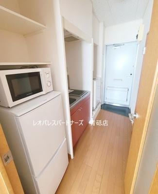 トイレが脱衣所にもなります