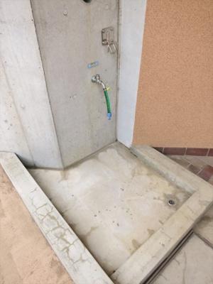 ワンちゃんの足洗い場
