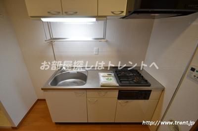【キッチン】パディ初台