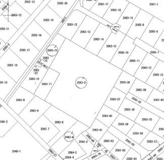 【土地図】日光市土沢 事業用地