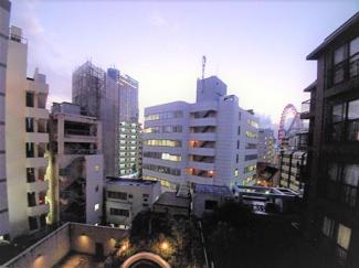 【ベルファース本郷弓町】4階からの眺望です。