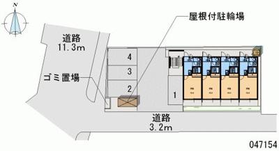 【区画図】サンシャイン箕輪