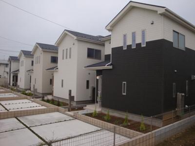 【外観】鴻巣市袋/新築分譲住宅全5棟