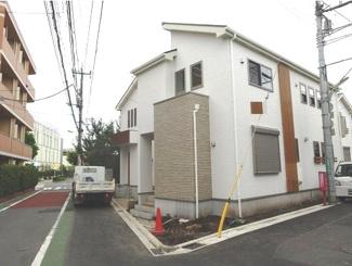 世田谷区祖師谷6丁目新築一戸建て5480万円外観2