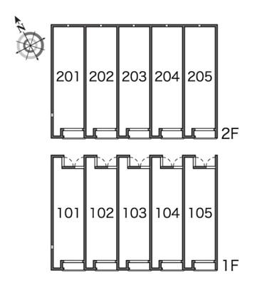 【区画図】レオネクストフルール