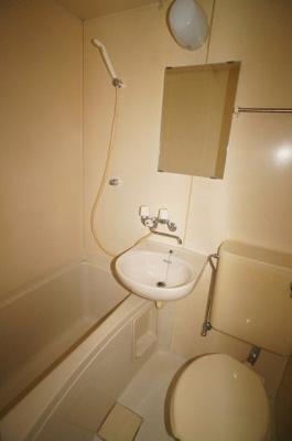 【浴室】フクトミハイツ