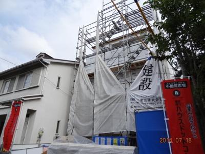 【外観】さいたま市北区奈良町新築一戸建て全1棟