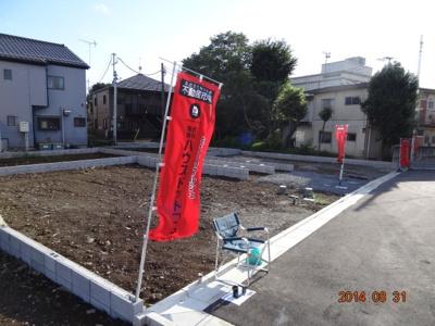 【外観】板橋区西台2丁目/新築分譲住宅全7棟