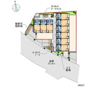 【区画図】ノワール Ⅱ