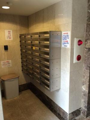 ステージファースト恵比寿東のメールBOXです。