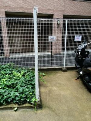 ステージファースト恵比寿東の駐輪場です。