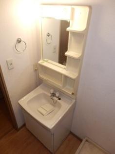 ヴェールメゾンⅡの独立洗面台
