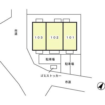 ロイヤルパレスの配置図