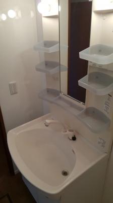 ロイヤルパレスの独立洗面台