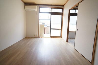 【寝室】コーポ赤坂