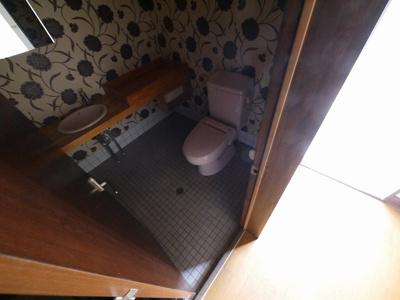 【トイレ】右京3丁目店舗