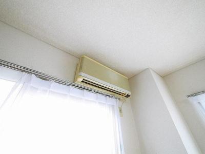 エアコン付きはうれしいです