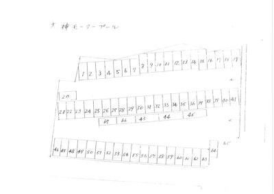 【区画図】大神モータープール