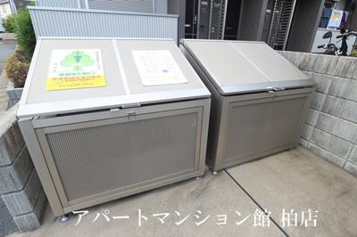 ★敷地内専用ゴミ置き場