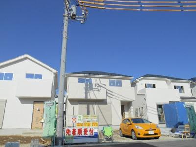 【外観】鴻巣市 神明3丁目 新築分譲住宅 全8棟 4号棟